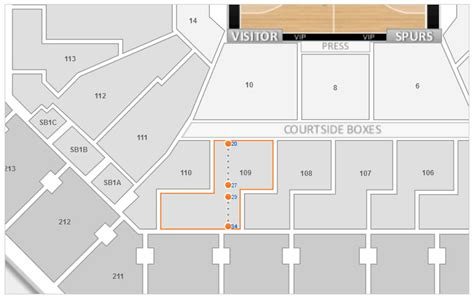 att center seating map san antonio spurs at t center seating chart interactive