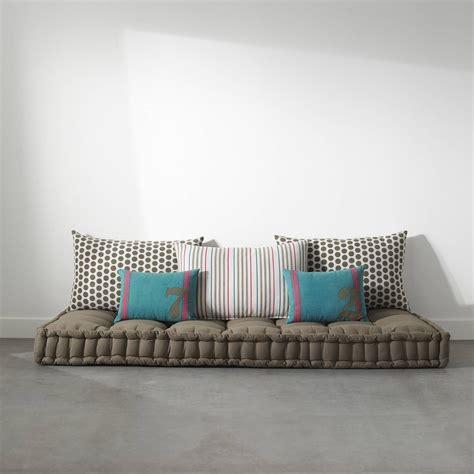 matelas futon 3 suisses matelas tapissier capitonn 233 passepoil 233 pur coton pour