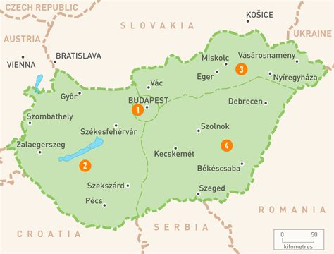 hungary map map of hungary hungary regions guides guides