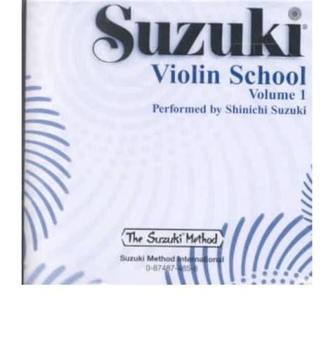 Suzuki Volume 1 Suzuki Violin School Volume 1 Shinichi Suzuki