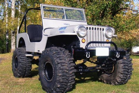willys jeep lifted 1948 willys cj2a custom jeep 180907