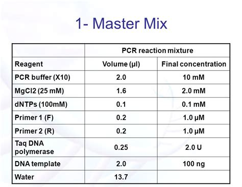 how much template dna for pcr image collections