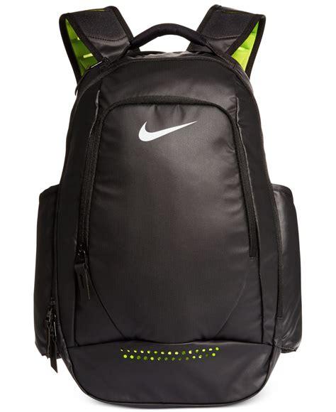 lyst nike ultimatum utility backpack in black for