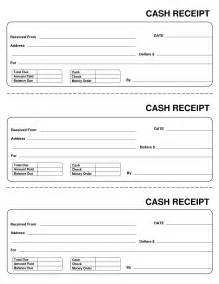 Cash Receipt Template Free 10 Best Images Of Printable Cash Receipt Template Free