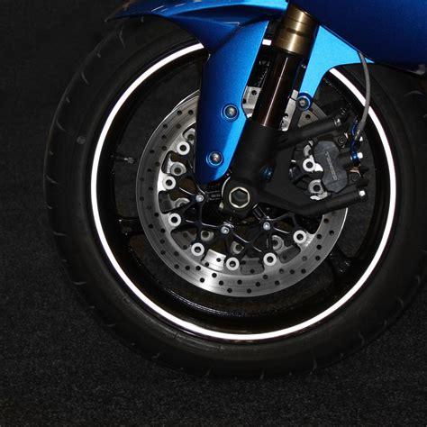Felgenrandaufkleber Motorrad Silber by Felgenrandaufkleber Motorrad Reflektierend