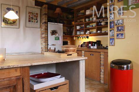 ccp cuisine gallery of cuisine brique et bois c with cuisine en brique