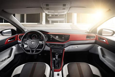 polo volkswagen interior 2018 volkswagen polo officially revealed gti packs 147kw