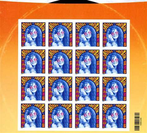 janis joplin stamp  worth collecting