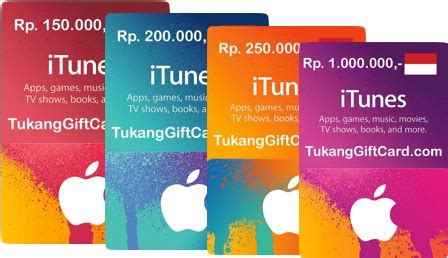 Itune Gift Card Indonesia itunes gift card indonesia tukang gift card