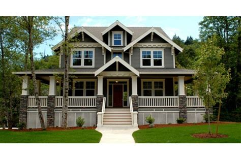 www house plans craftsman 3 beds 2 5 baths 3621 sq ft plan 509 35 front elevation houseplans house of