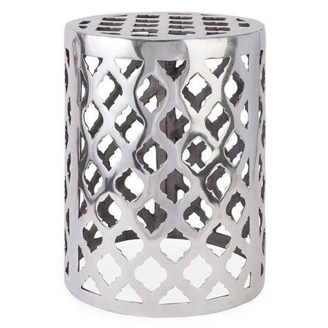 silver garden stool safavieh ming forest light oak ceramic garden stool