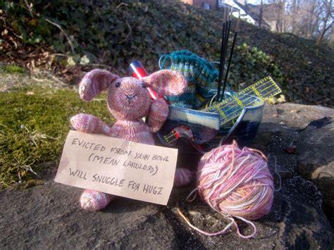 sock bunny podcast yarn bowl eviction the mini sock yarn bunny knitting