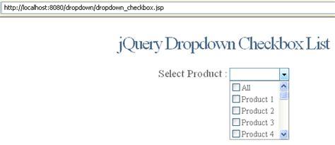 tutorial html checkbox dropdown checkbox list