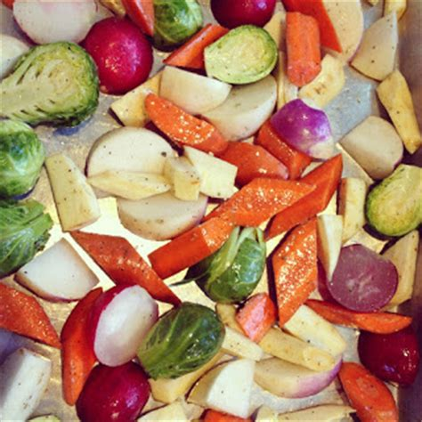 ina garten pan roasted root vegetables roasted winter and root vegetables adventures of cecelia