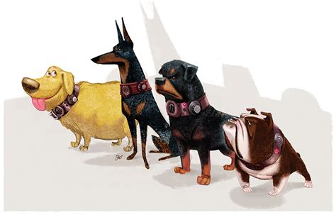 ups dogs 17 pieces of stunning up concept oh my disney