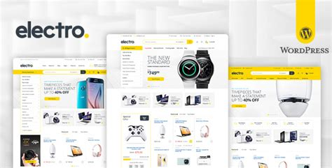 electronics templates for blogger electro v1 4 4 electronics store woocommerce theme