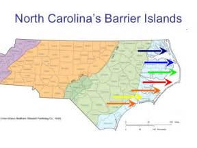 carolina barrier islands map carolina geography the tidewater region