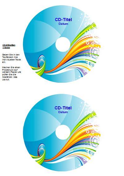 Cd Label Drucken Kostenlos Download by Cd Label Drucken