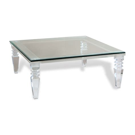 Acrylic Coffee Table Clear Plastic Coffee Table