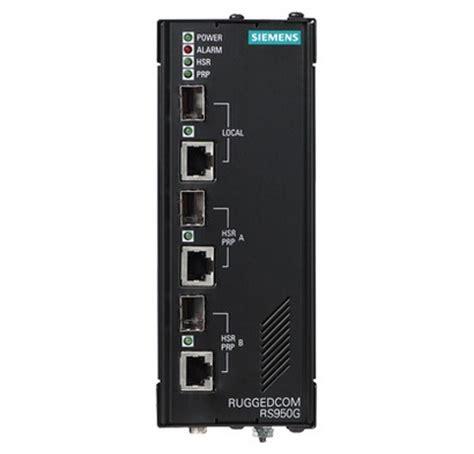rugged siemens siemens ruggedcom rs950g switch