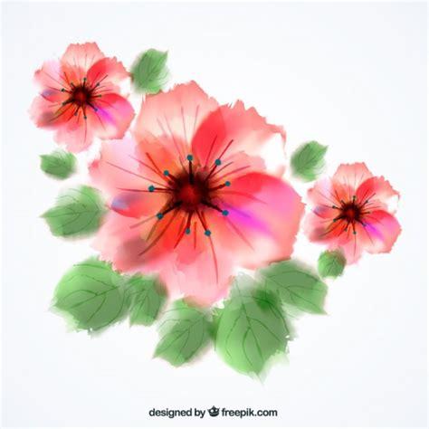 imagenes de rosas jpg flores de acuarela descargar vectores gratis