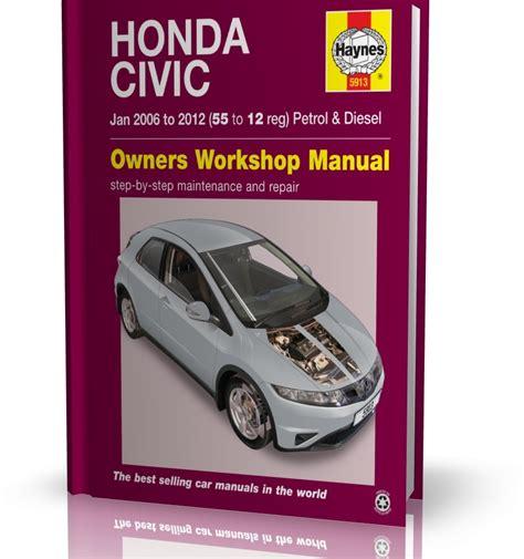 haynes manual honda civic 2006 2012 diesel petrol car workshop repair book ebay service manual pdf haynes honda civic 2006 2012 honda civic 2006 2012 prices in pakistan