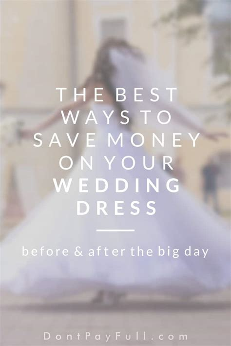The Best Ways to Save Money on Your Wedding Dress