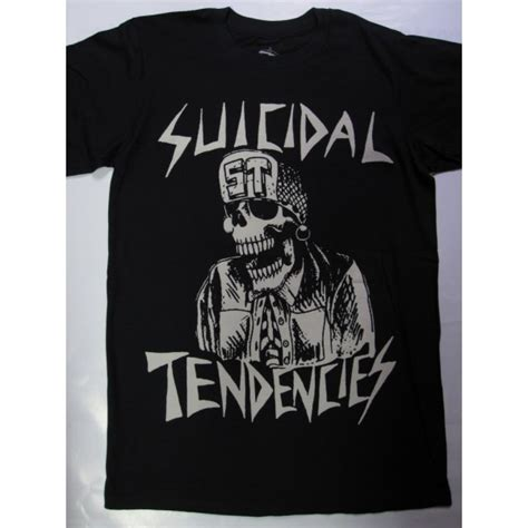 Tshirt Suicidal Tendencies Putih suicidal tendencies mascot t shirt