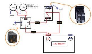 Car Led Light Circuit Diagram Aux Car Light Switch Setup Electronics Forums