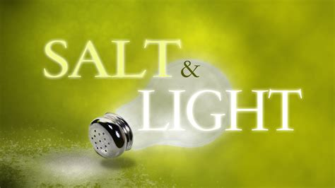 3r s of success for being salt and light paul sohn