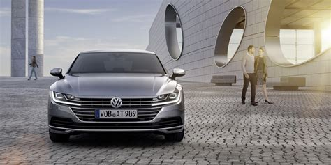 volkswagen arteon price new 2018 vw arteon four door coupe is the cc s more