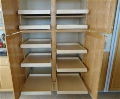 kitchen cabinets sliding shelves 33 best pull out pantry shelves images on pinterest