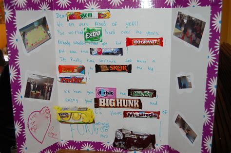 candy christmas boards for co workers poster board retirement gift for or coworker gift ideas