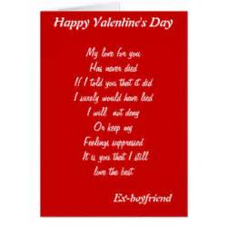 ex boyfriend cards zazzle