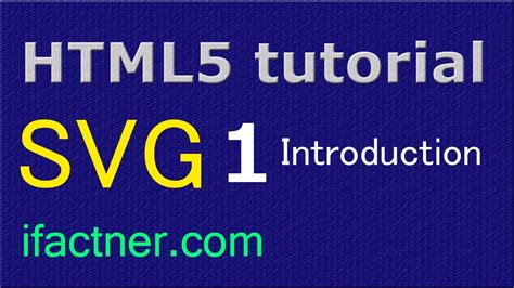 svg pattern html5 html5 inline svg beginners tutorial introduction 1 youtube
