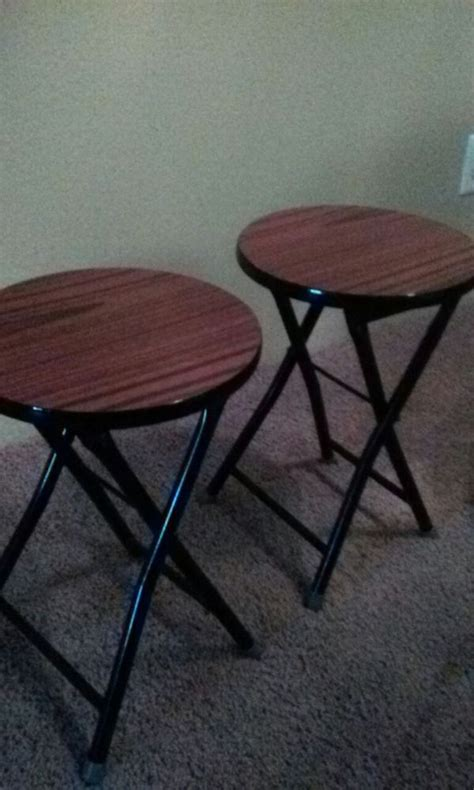 Fold Up Stools Cing by Small Fold Up Stools Household In Everett Wa Offerup
