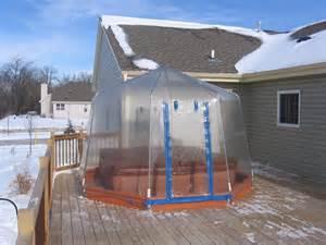 Diy Backyard Projector Screen Tub Amp Spa Enclosures Tub Covers