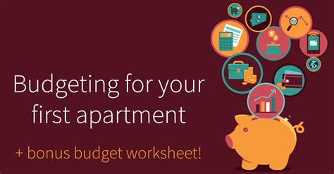 apartment budget apartment budgeting tips for first time renters budget