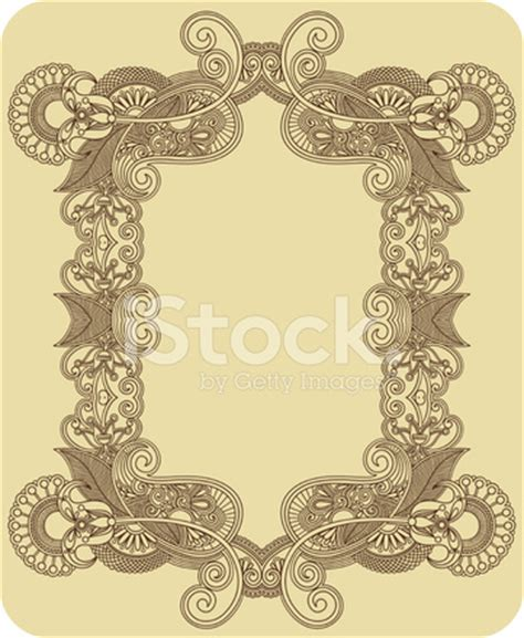 paisley pattern photo frame paisley frame stock photos freeimages com