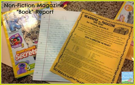 newspaper book report project 17 best images about book projects on