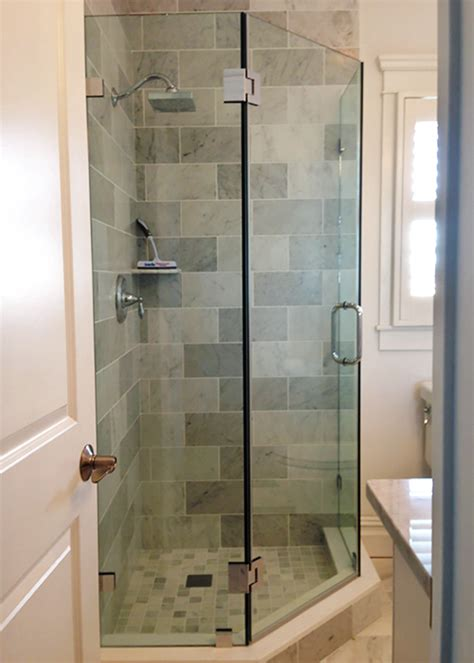 Neo Angle Shower Doors Corner Shower Manalapan Nj Angle Shower Doors