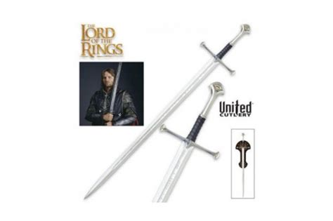 united cutlery anduril review anduril sword by united cutlery york armoury york armoury