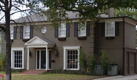 Painting A Brick House by Painted Brick Homes Before And After Painting Brick