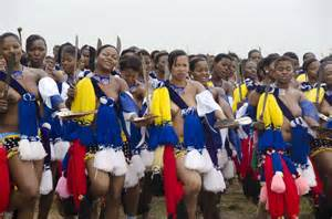 Look to us like south african zulu girls who were attending the event