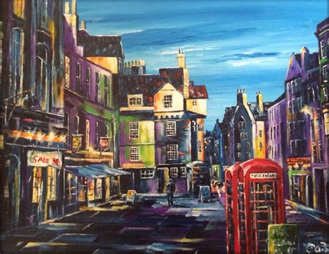 Landscape Artists Edinburgh Edinburgh Prints Landscape Artist In Dalkeith Uk