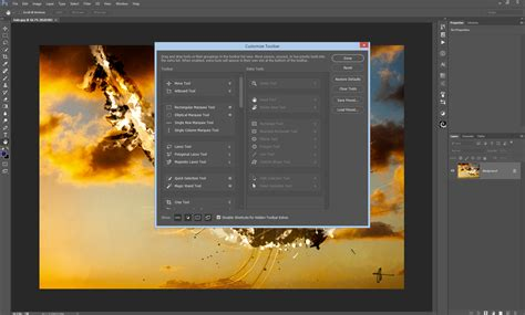 how to customize the toolbar in photoshop cc new in photoshop cc 2015 november release