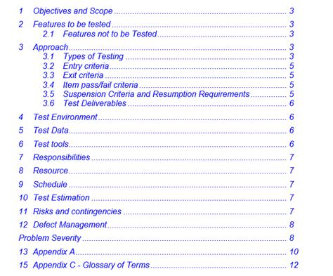 test automation strategy document template test plan template selenium gyan