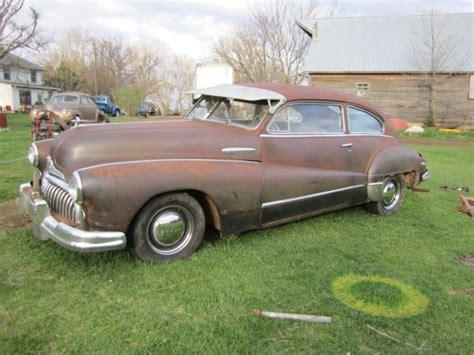 1947 buick sedanette 2 door eight