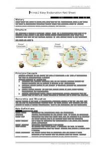 management by fact template prince2 project management fact sheet