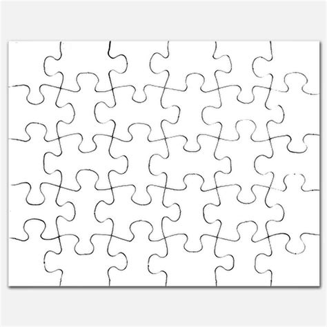 plain white puzzles plain white jigsaw puzzle templates